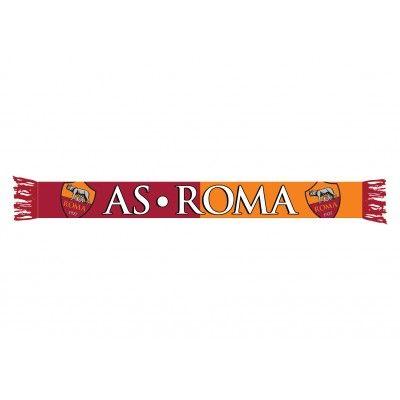 A.S.ROMA JACQUARD SCARF bordeaux/orange - BAGS & ACCESSORIES