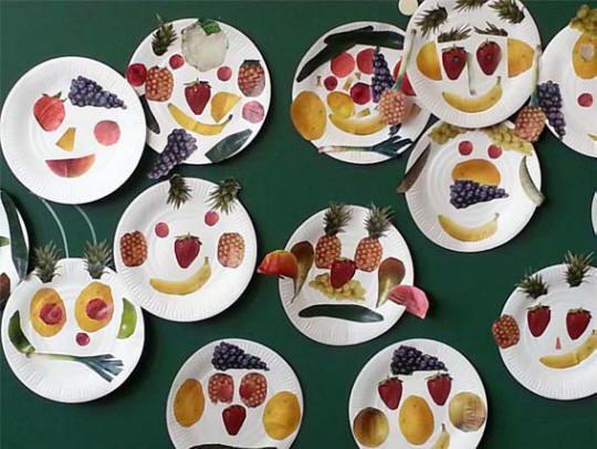découverte des fruits et légumes avec Arcimboldo