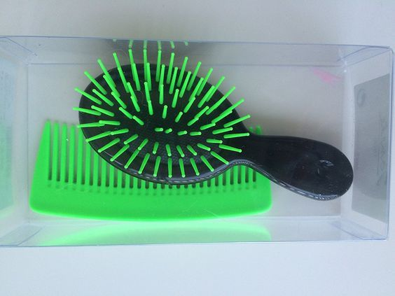 Janeke Baby Hair Brush Mini (2, Black/green) ** You can find more details by visiting the image link.