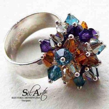 Juicy Colors kolorowy pierścionek www.KuferArt.pl