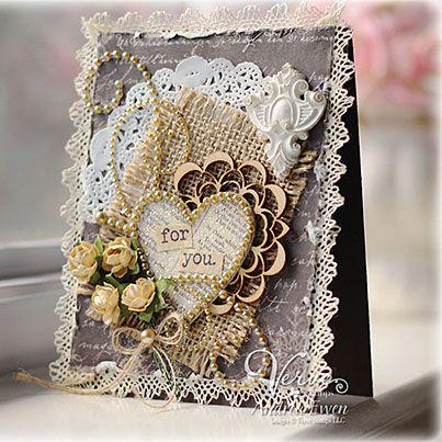 Vintage Heart Card