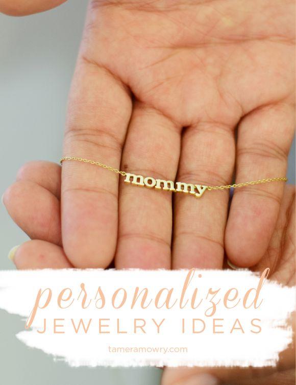 Tamera Mowry Personalized Jewelry