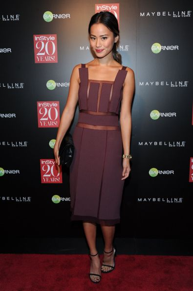 Jamie Chung attends the Instyle Hosts 20th Anniversary Party at Diamond Horseshoe at the Paramount Hotel on September 8, 2014 in New York City.  (Photo by Rommel Demano/Getty Images)
