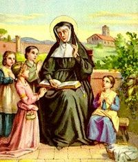 Saint of the Day for Wednesday, January 27, 2016 - St. Angela Merici
