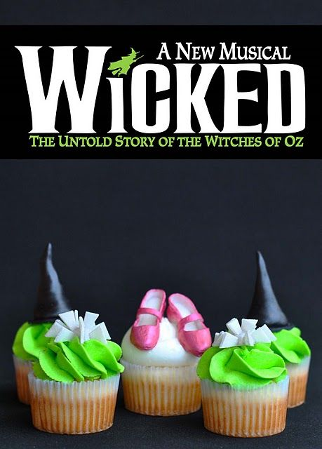 You'll fly off the handle when you see these Wicked cupcakes