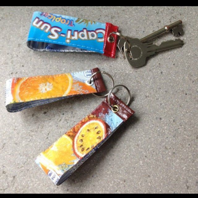 How about a fun unique gift for Fathers Day? #upcycling #caprisun