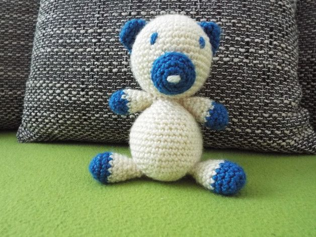 Stuffed Animals – Crochet bear – a unique product by JanickaM on DaWanda