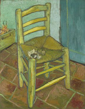 Stories About Chairs. I wonder if there are any picture books about Van Gogh's chair?