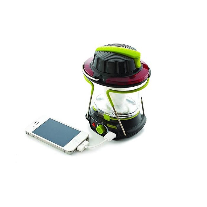 Goal Zero Lighthouse 250 Lantern: φωτιστικό σώμα και φορτιστής USB.