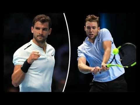 Grigor Dimitrov vs Jack Sock LIVE Latest ATP World Tour Finals updates