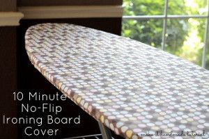 Insanely Easy Ironing Board Cover