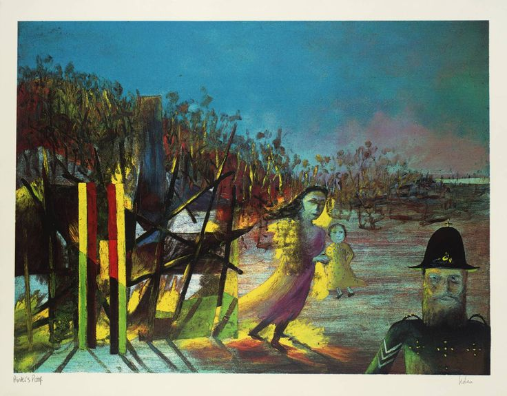 '11. Mrs Reardon at Glenrowan', Sir Sidney Nolan , 1970–1