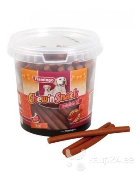 Maiustus koertele Chew'n Snack, veiseliha pulgad, 700 g hind ja info | Maiustused koertele | kaup24.ee