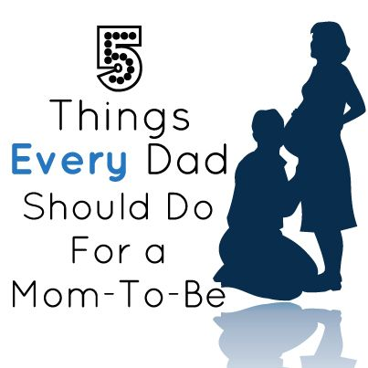 Pass it on! 5 things every dad-to-be should do for his pregnant partner