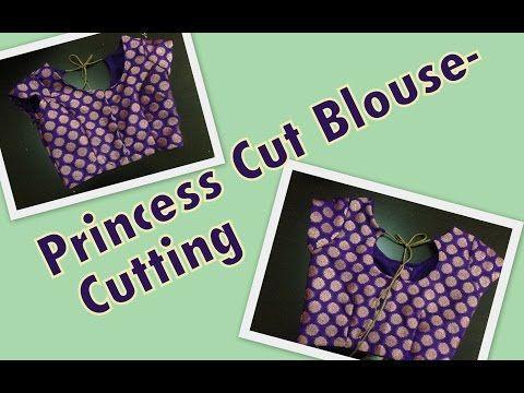 Princess Cut Blouse - Part 1 - Cutting - YouTube