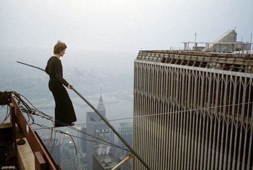 Philippe Petit, Man on Wire        =:O