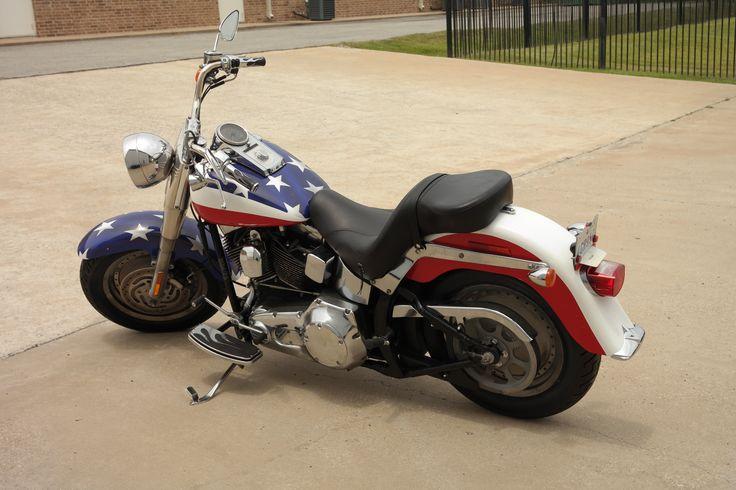 Patriotic Harley Wrap By Car Wrap City
