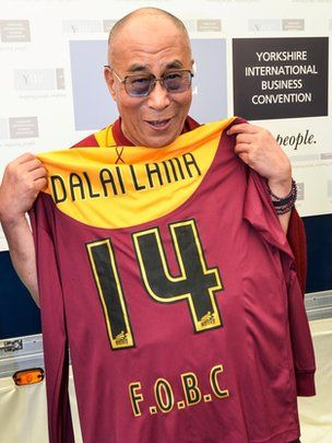 His Holiness The Dalai Lama - Today's tip – Capital One Cup Final - Bradford City v Swansea City - http://dofooty.info/todays-tip-capital-one-cup-final/#