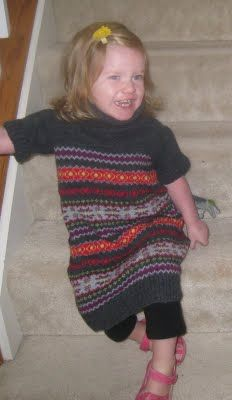 """Get Your Craft On: Rooty """"TUTE"""" Tuesday - Sweater Dress"""