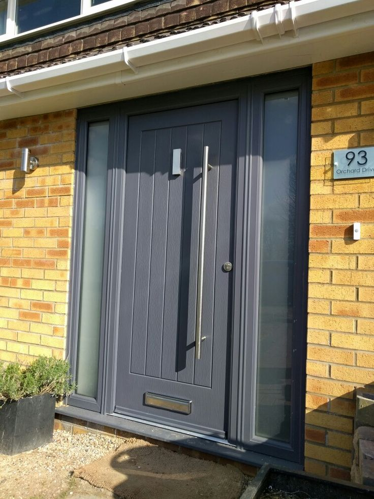 28 best upvc windows and composite doors images on for Grey upvc porch