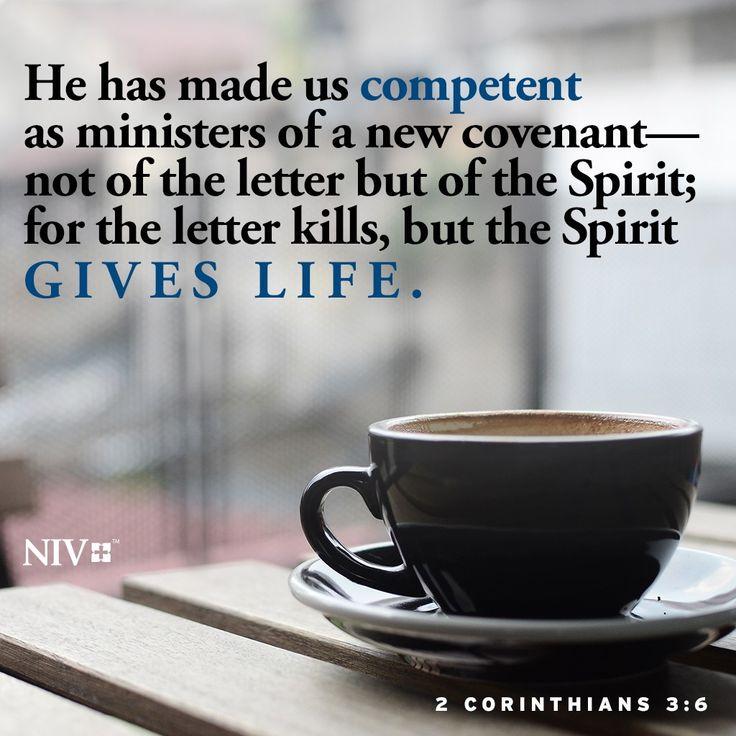 NIV Verse of the Day: 2 Corinthians 3:6