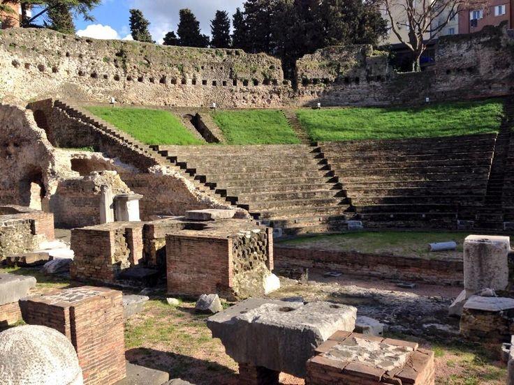 Il teatro romano di Trieste #FVGLP pic.twitter.com/neVAgJ2sm4