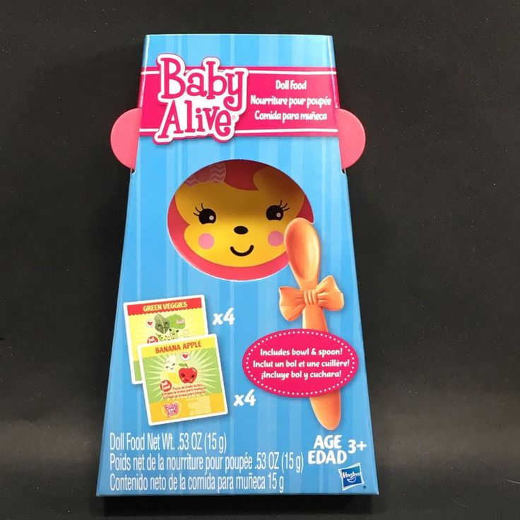 Baby Alive Doll Food Refill 8 Pack Food Bowl and Spoon 2013 Hasbro 21 | eBay