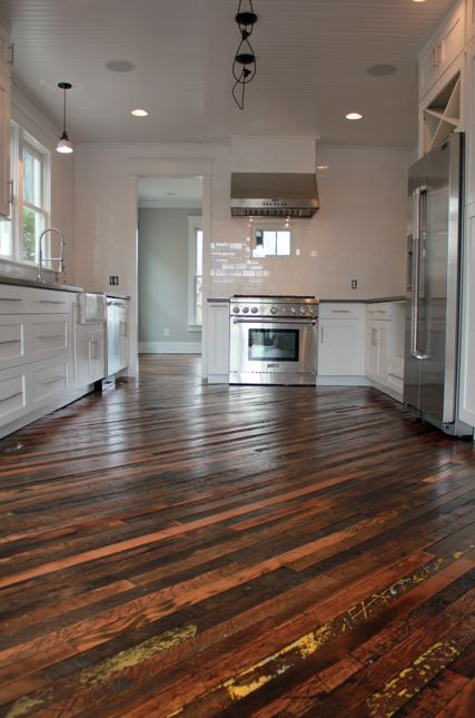 Angleddiagonal floor design  Inspirational Hardwood Flooring Designs  Flooring Reclaimed