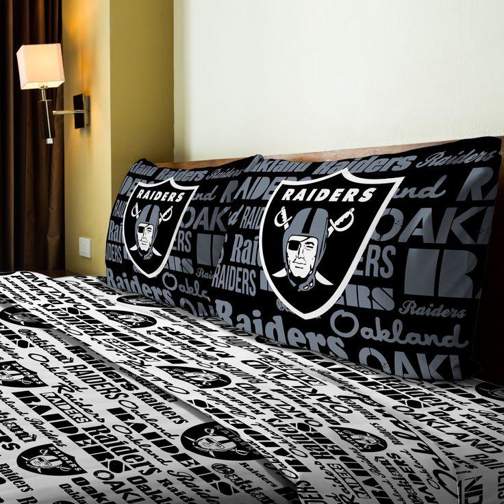 NFL Raiders Anthem Sheet Set