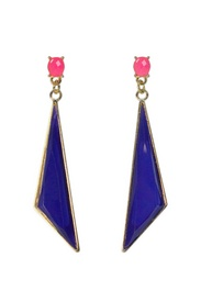Pink & Blue Geo Drops    Repin your fave jewelry styles for a chance to win them to keep!