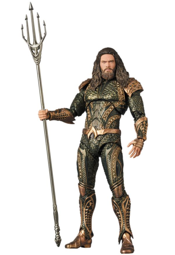 MAFEX Justice League Movie Aquaman Figure Official Images