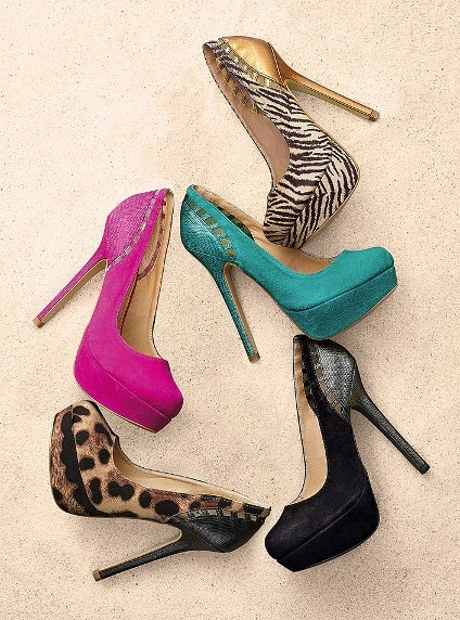 The Supermodel Pump - Colin Stuart® - Victoria's Secret: Secret Pumps, Heels Pink, Victoria Secret Shoes, Boots Heels, Www Victoriassecret Com, Animal Prints, High Heels, Supermodels Pumps, Shoes Shoes