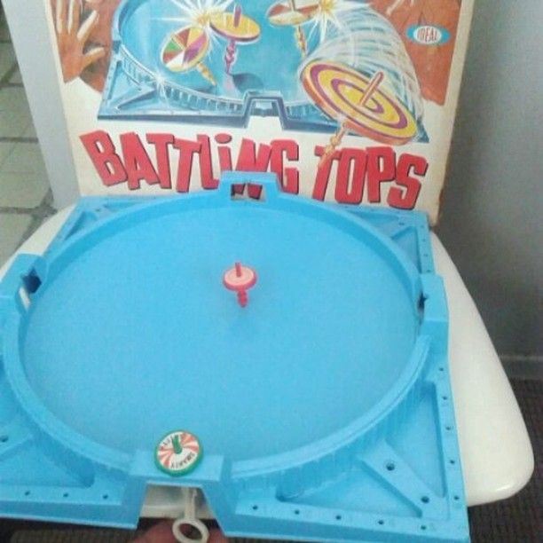 Battling Tops from #1971 Who needs Halo. #battlingtops #vintagetoy #retro #vintage #collectible #collectable #vintagegame #stcatharines #rolypolyrecords #niagarafleamarket