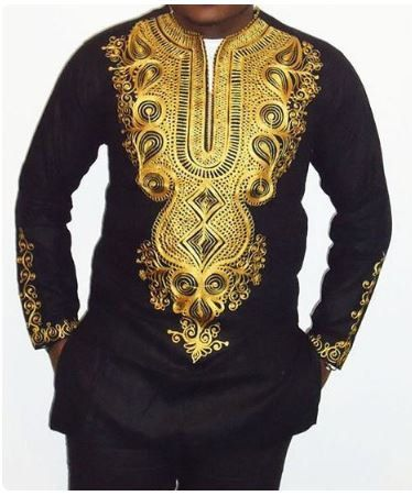 African Clothing for Men Dashiki African Men by AfricaBlooms