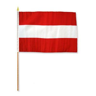 FlagsImporter Austria Traditional Flag and Flagpole Set