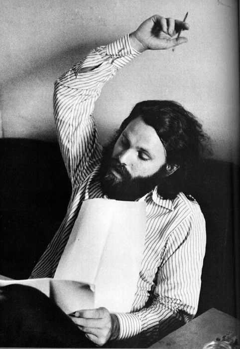 """""""The program for this evening is not new, you've seen this entertainment through and through. You've seen your birth, your life and death, you might recall all of the rest. Did you have a good world when you died, enough to base a movie on?"""" - Jim Morrison, """"The Movie"""" poem."""