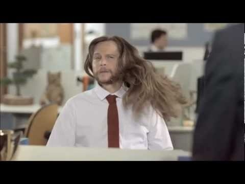 What If Men Had Women's Hair? (by Dove Men + Care)