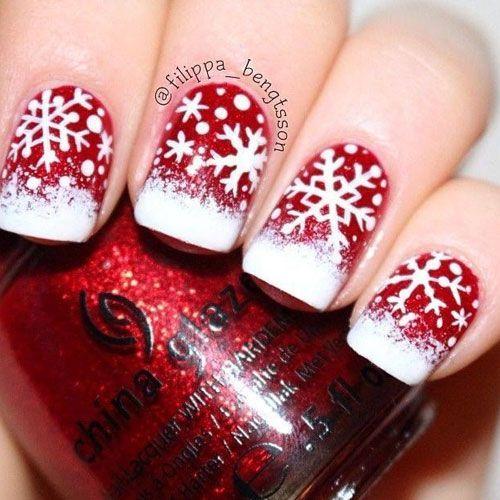 nice Christmas Nail Art – 31 Christmas Nail Art Designs - Nail My Polish