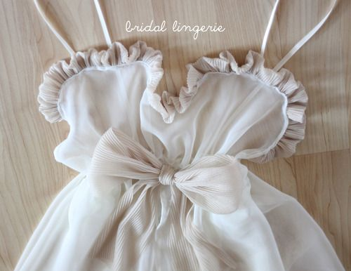 DIY Lingerie To Repurpose Wedding Dress