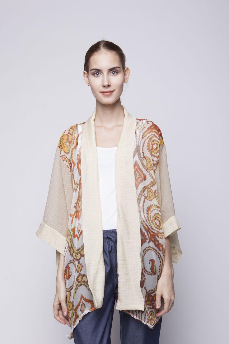 Belle Kimono Brown   Rp 221.250