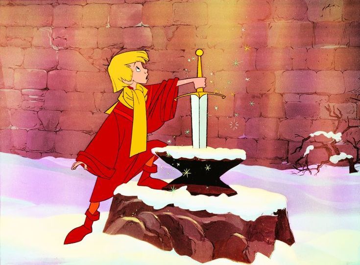 Disney's version of the King Arthur story, The Sword in the Stone, portrays Merlin as a bumbling-old-man who tutors the young Arthur. However, Merlin is also a powerful wizard who is dangerous to his enemies, and who also offers counsel and acts as a loyal friend to the future king. http://simon-rose.com/books/the-childrens-writers-guide/