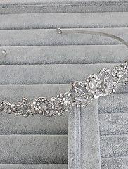 Donne Strass Copricapo-Matrimonio / Occasioni speciali / Casual / Formale / All'aperto Tiare 1 pezzo