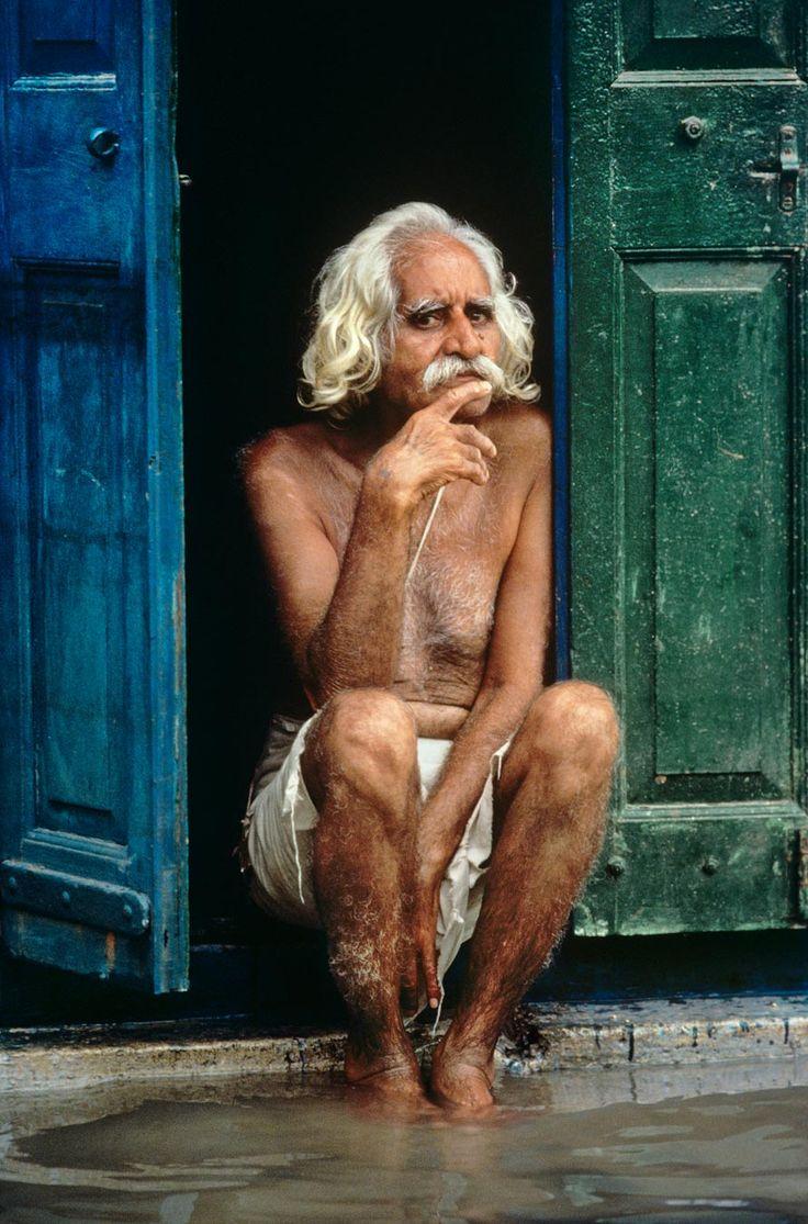 Right as Rain - Steve McCurry - Porbandar, India