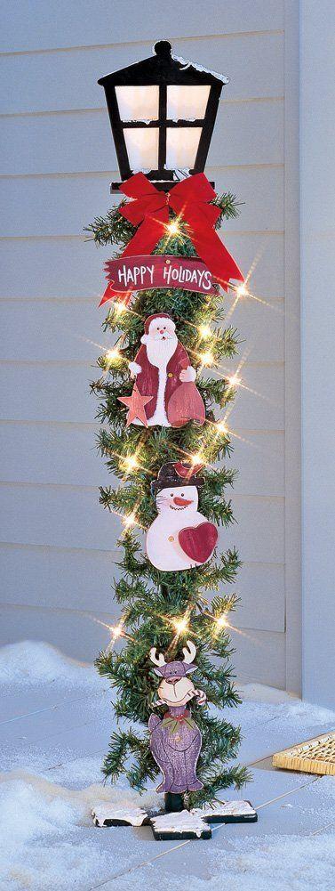 Christmas Lamp Posts   Christmas Wikii