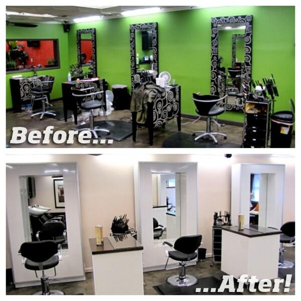 Remodelacion de salon de belleza #MiPrimeraVesByCyzone