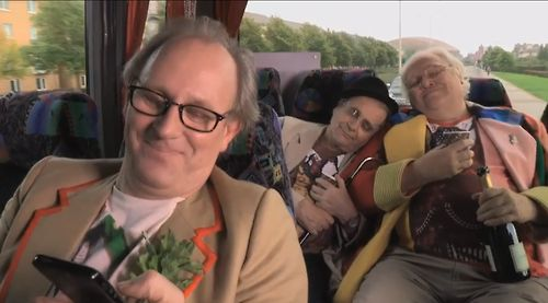Peter Davison, Colin Baker and Sylvester McCoy...what a lovely, heartwarming little film this was! :)