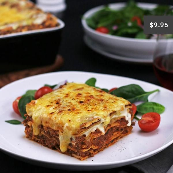 YouFoodz | Beef Lasagne $9.95 | Another winter classic, Youfoodz' delicious beef lasagne with a healthy twist! | #Youfoodz #HomeDelivery #YoullNeverEatFrozenAgain