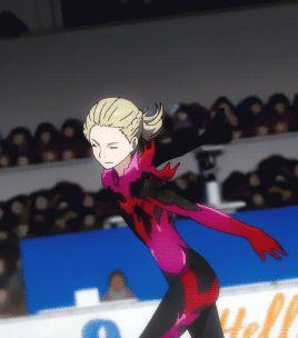 Yuri on Ice! Oh me god I just love him so much! Aaaaaaaaaaaaah *dies of fangirling*