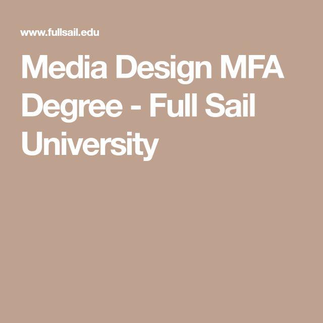 Media Design MFA Degree - Full Sail University