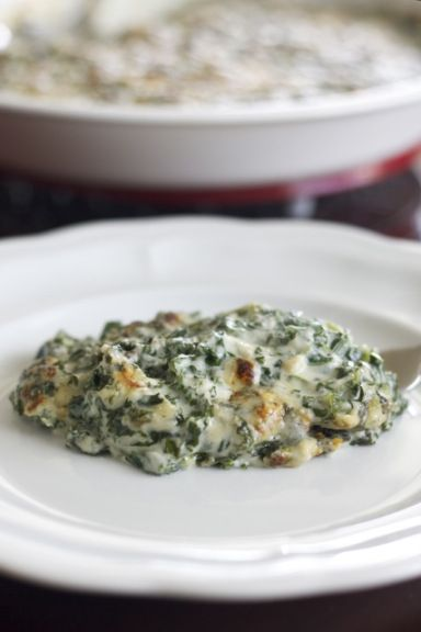 Creamed kale recipe (ceramed spinach recipe) Maybe not so healthy, but it does have kale in it!
